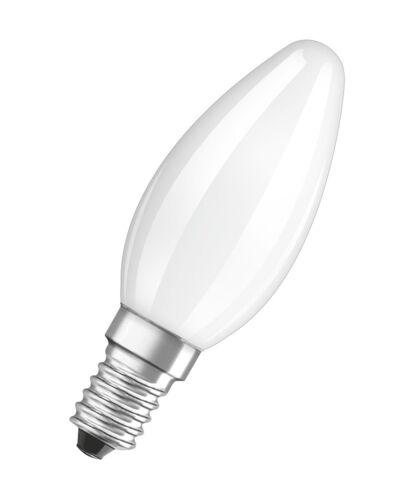 Osram LED Star Classic B40 E14 4W 6500K Tageslicht LED-Lampe wie 40W Glühbirne