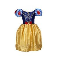 Girls Snow White Fancy Dress Costume Kids Princess Outfit UK Ages 2/3/4/5/6/7/8
