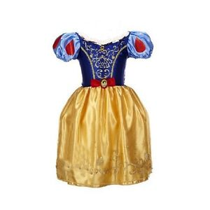 0e037af859aa Girls Snow White Fancy Dress Costume Kids Princess Outfit UK Ages 2 ...