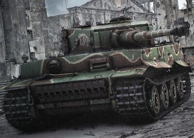 tiger panzer panzerkampfwagen vi wehrmacht poster ebay. Black Bedroom Furniture Sets. Home Design Ideas