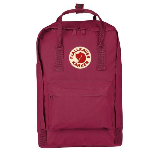 """Fjällräven Kanken 15/"""" Laptop Rucksack Schule Freizeit Tasche plum 27172-420"""