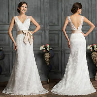 Grace Karin Long Bridesmaid Evening Party Prom Gown Formal Wedding BRIDAL Dress