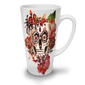 Day Dead Rock NEW White Tea Coffee Latte Mug 12 17 oz | Wellcoda
