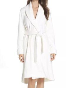 e9f30bc9e0 UGG Women s Duffield II Robe Cream SZ Large  130 Style 1085612 ...