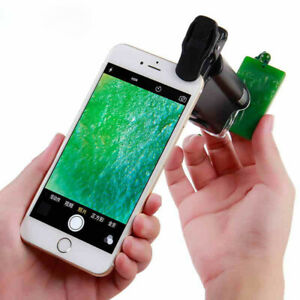Universal Portable 90X LED Magnifier UV Loupe Pocket Microscope for Smart Phone