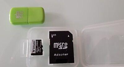 Scheda Micro Sd 256 GB Verbatim Classe 10 Adattatore USB