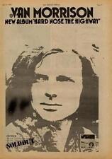 Van Morrison Hard Nose The Highway UK Tour advert 1973