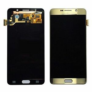 New-GENUINE-Samsung-Galaxy-S6-LCD-Screen-Replacement-Without-Frame-Gold-G920