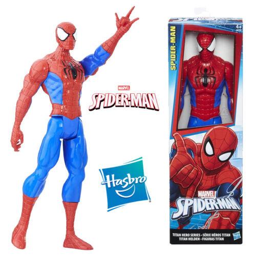 PERSONAGGIO 30 CM SPIDERMAN SPIDER MAN UOMO RAGNO MARVEL ACTION FIGURE SUPER ERO