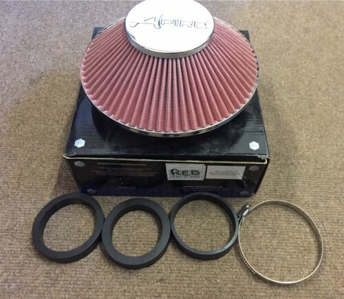 Apiro Red Dynamique High Performance Air Filter Induction Flat design