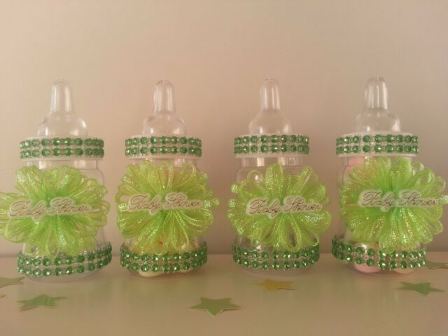 Baby Mickey Mouse Bottles Baby Shower Favors Prizes It/'s a Boy Games Decorations