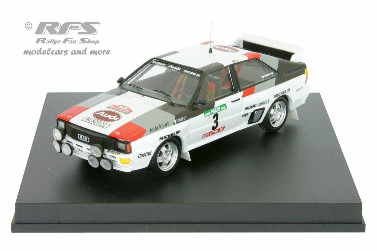 Audi Quattro A1  Hannu Mikkola Winner Rallye Portugal 1983  1 43 Trofeu 1607 NEU