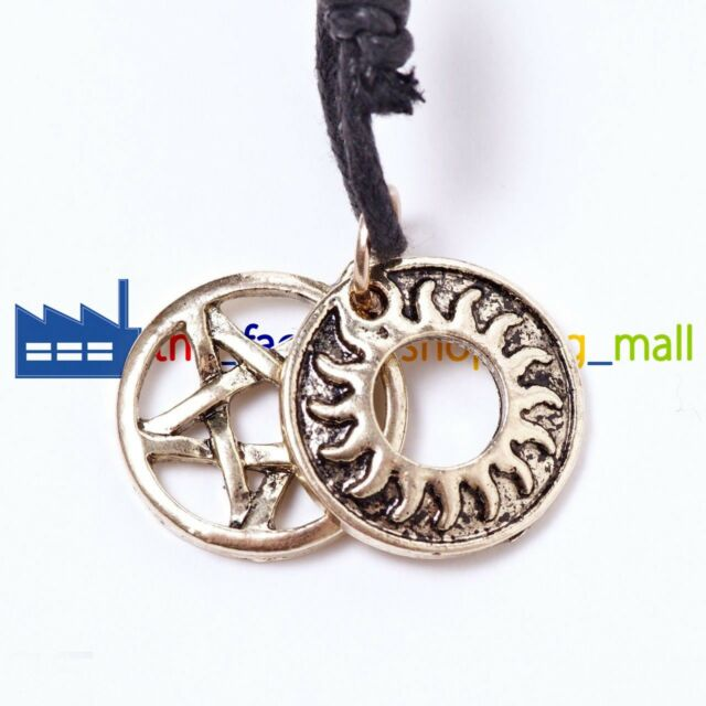 Supernatural Inspired Dean Winchester's Anti Possession Tattoo Pendant Necklace