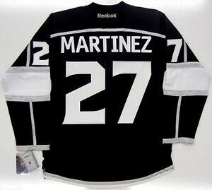 6e9b4239990 ALEC MARTINEZ LOS ANGELES KINGS HOME REEBOK NHL PREMIER JERSEY | eBay