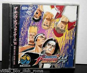 THE-KING-OF-FIGHTERS-94-USED-USATO-PER-NEO-GEO-CD-EDIZIONE-GIAPPONESE-FR1-31528