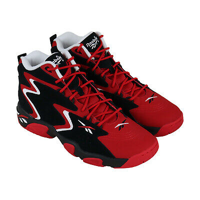 Reebok Mobius Og MU CN7905 Mens Red Lace Up Athletic Gym Basketball Shoes   eBay