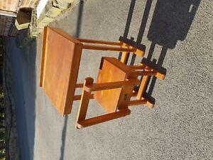Old School Desk And Chair Retro Ebay