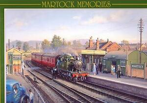Jigsaw Puzzle Martock Station Memories: Branch Line Yeovil Taunton Prairie 4507