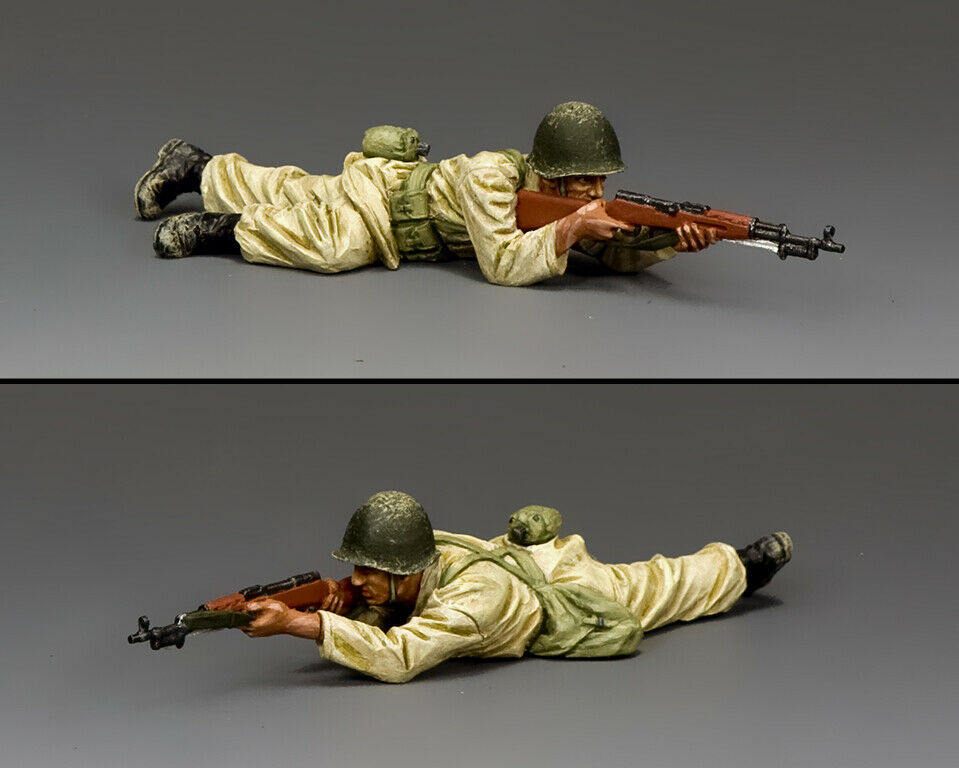 KING & COUNTRY ISRAELI DEFENSE FORCE IDF025 SYRIAN   EGYPTIAN SOLDIER PRONE FIRI