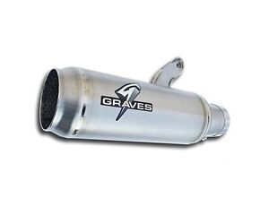 2015 2019 Yamaha R1 R1m S Graves Cat Back Slip On Exhaust System