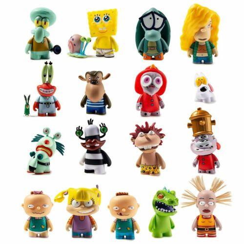 4 Figure Kidrobot 90/'s Nickelodeon Cartoons Series 2 Blind Box Mini Figure NEW