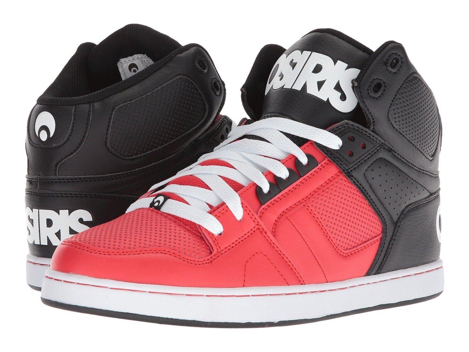 bei skateboard osiris nyc 83 clk skateboard bei für rot - schwarz - weiße schuhe e6379a
