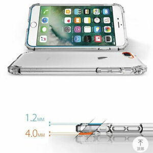 For-iPhone-Bumper-Cover-Transparent-Airbag-Silicone-XS-Max-XR-X-8-7-6-5