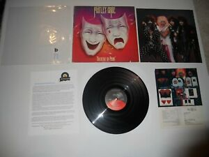 Motley-Crue-Theater-of-Pain-039-85-1st-Elektra-Analog-USA-EXC-ULTRASONIC-Clean