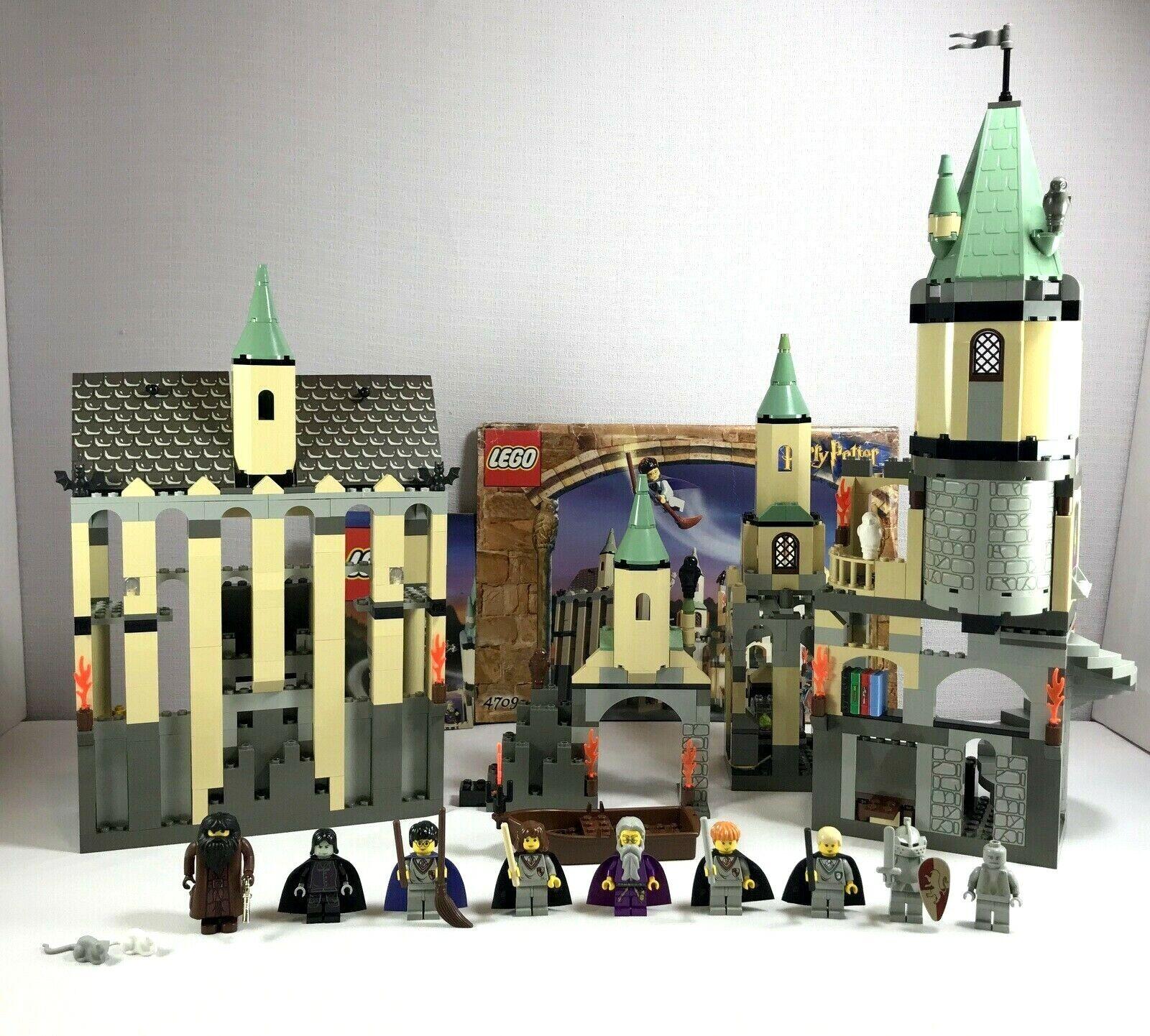 Lego Harry Potter set  4709 Hogwarts Castle complet avec 9 minifigs & POSTER  voici la dernière