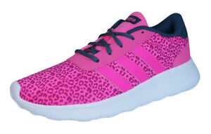 Details about adidas Neo Lite Racer Womens Sneakers Fashion Retro Pink-Leopard Fitness Shoes