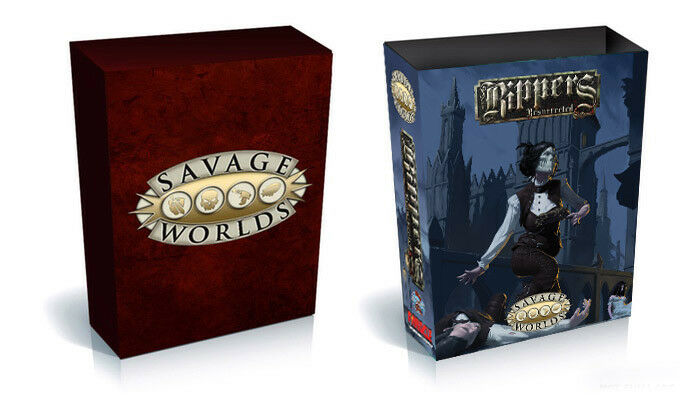 Savage Worlds Rippers Resurrected Collector's Box Set [S2P10328] (Pinnacle)
