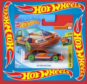 Hot-Wheels-2020-92-FORD-MUSTANG-90-250-NEU-amp-OVP