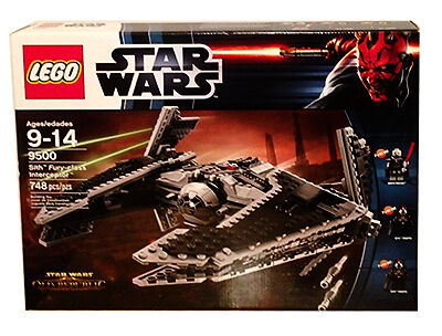 LEGO 9500 Sith Fury-class Interceptor - NEU und original VERSIEGELT