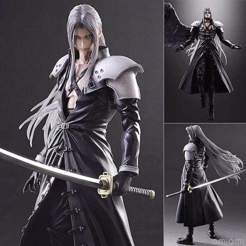 Play Arts Kai Final Fantasy 7 VII Sephiroth PVC Action Figure Model Statue Toy
