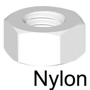 ECROU M8 Nylon lot de 100 pièces