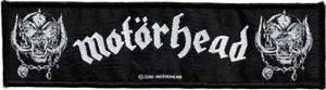 Official-Licensed-Merch-Woven-Sew-on-SUPERSTRIP-PATCH-Rock-MOTORHEAD-War-Pigs