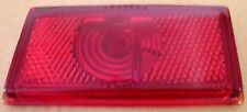 NOS 1948 1949 PACKARD RIGHT GLASS TAIL LIGHT LENS. #19698- SEXTANS -STIMSONITE.