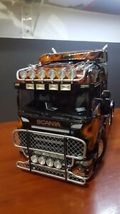 1//14 Tamiya Scania T-cab Metal Light Animal Guard V4