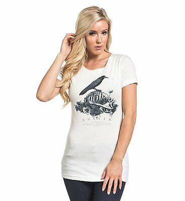 2XL NEW SULLEN CLOTHING Kiss Of Death Girl Juniors T-Shirt S