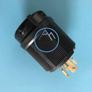 3-Phase NEMA L21-20P Locking Plug 120//208V Rated for 20A L21-20 Plug