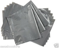 """10 STRONG GREY MAILING PACKAGING POSTING POSTAL MAIL BAGS,350 x 540mm~ 14"""" x 21"""""""