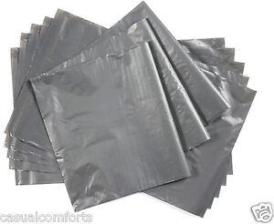 """10 Emballages Gris Forte Diffusion Poster Sacs De Courrier Postal,350 X 540mm ~ 14 """"x 21""""-afficher Le Titre D'origine Design Professionnel"""