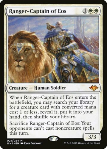 Ranger-Captain of Eos Single MTG Modern Horizons Pack Fresh
