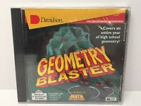 Davidson Geometry Blaster The Educational Advantage Pc Cd Computer Game