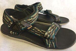 743d7035763d Teva Terra-Float Univ 2.0 Tacion Olive Green Mens Sport Sandals Size ...