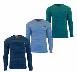 Superdry-Mens-Orange-Label-Embroidery-T-Shirt-Long-Sleeve-Top-Navy-Blue-Teal