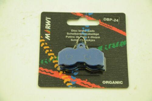 MARWI UNION ORGANIC DISC BRAKE PADS FOR HOPE XC4 CALIPERS 1+1 FREE DBP-24