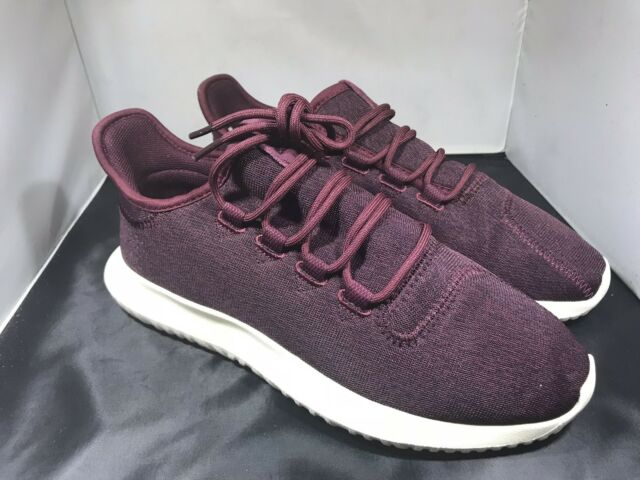 check out 90faa 6c549 adidas Tubular Shadow Womens Cq2461 Maroon Stretchy Dupont Kevlar Shoes  Size 8.5