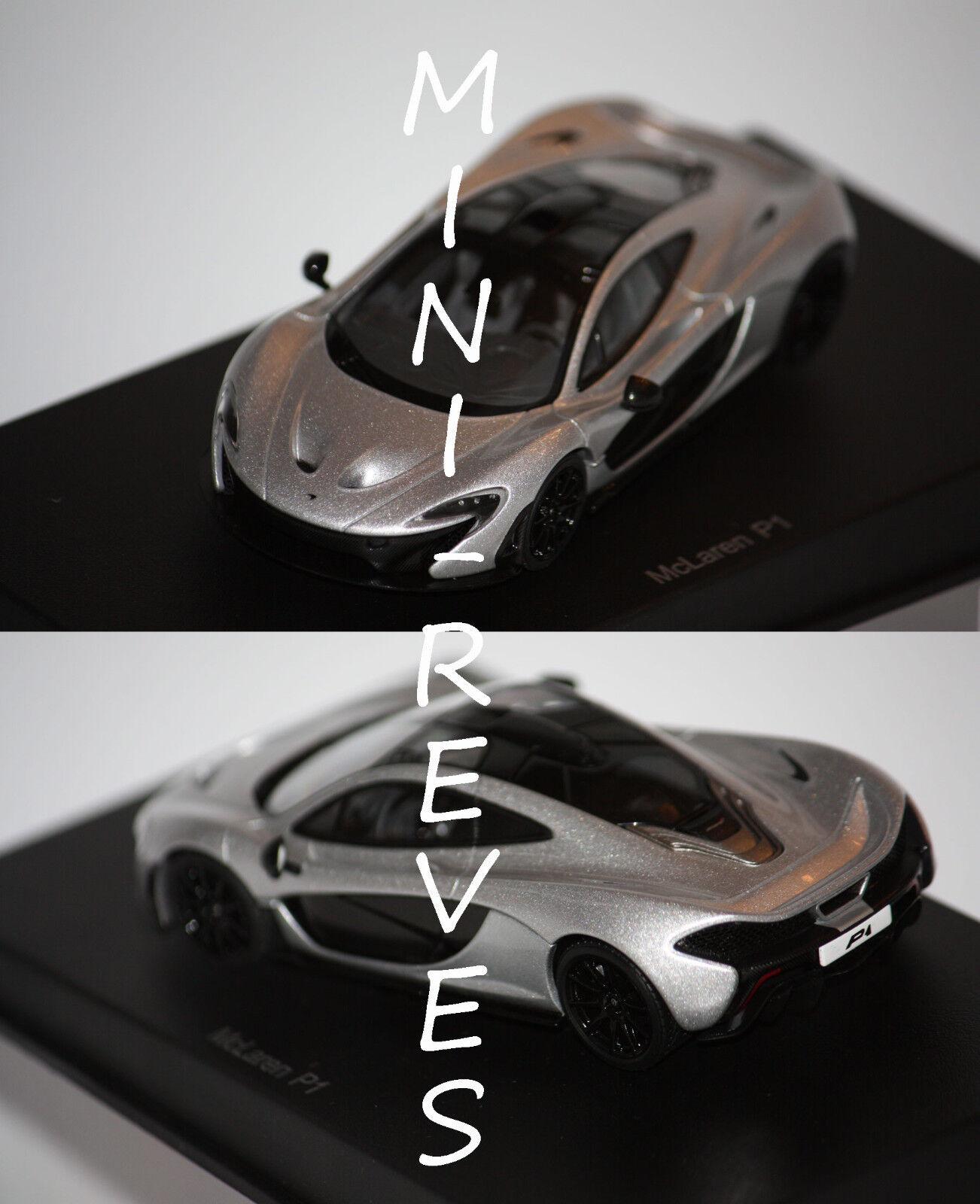 vanno a ruba Autoart Autoart Autoart Mclaren P1 2013 argentooo 1 43 56013  fabbrica diretta