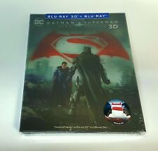 BATMAN v SUPERMAN Dawn Of Justice [3D] Blu-ray STEELBOOK [NOVAMEDIA] LENTICULAR
